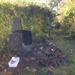 Vybratie kompostu je veľmi jednoduché
